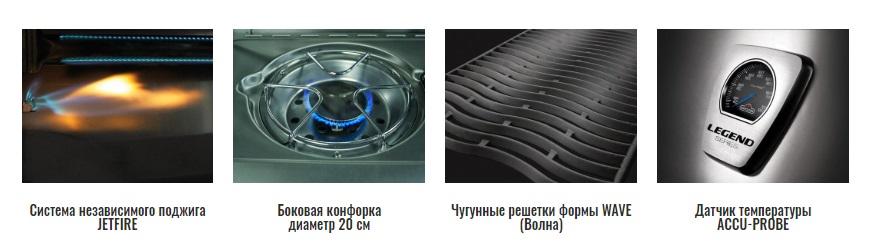 Газовый гриль Napoleon Legend-410 и Legend-325 преимущества