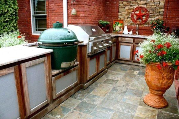 Керамический гриль Big Green Egg XL гриль кухня, модули