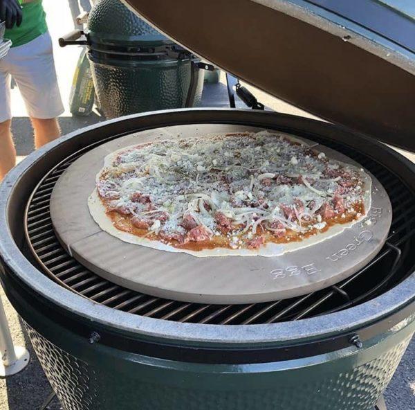 Керамический гриль Биг Грин Егг XXL (2XL) выпечка, пицца