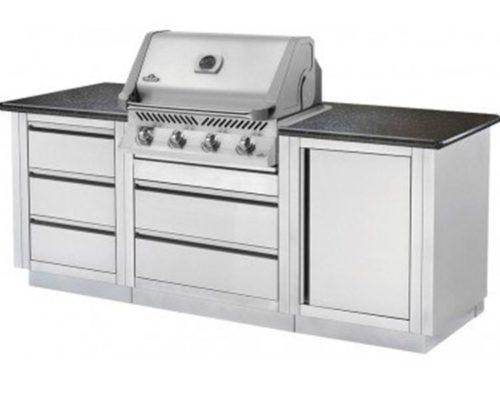 Модульная летняя кухня BBQ Gourmet-100 с грилем NAPOLEON BILEX-485