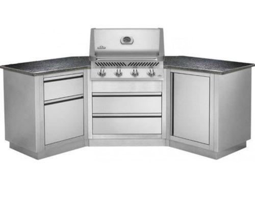 Модульная летняя кухня BBQ Gourmet-200 с грилем NAPOLEON BILEX-485
