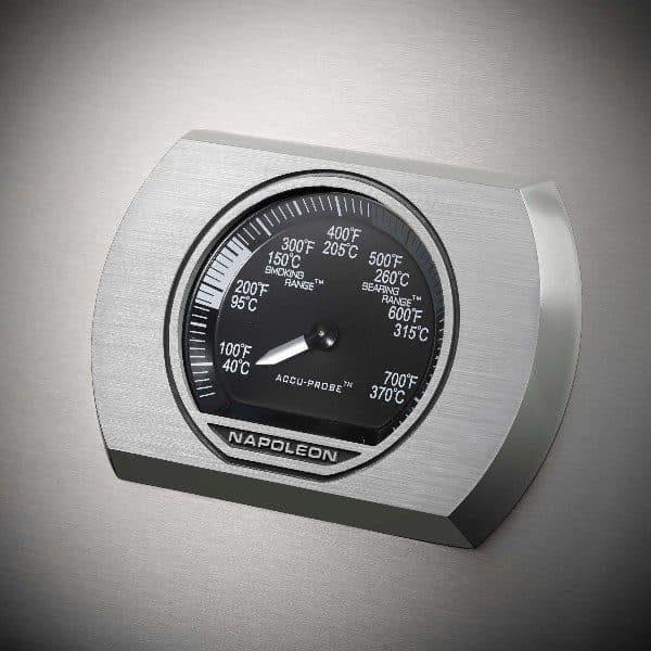 Датчик температуры в Газовом гриле Наполеон, Rogue-525 SE (стальной с ИК горелкой 3/3)