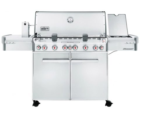 Газовый гриль Weber Summit S-670 GBS нерж.сталь