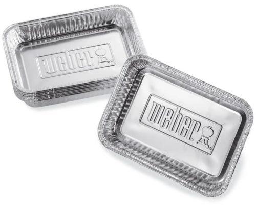 Алюминиевые поддоны Weber малые 10 шт.