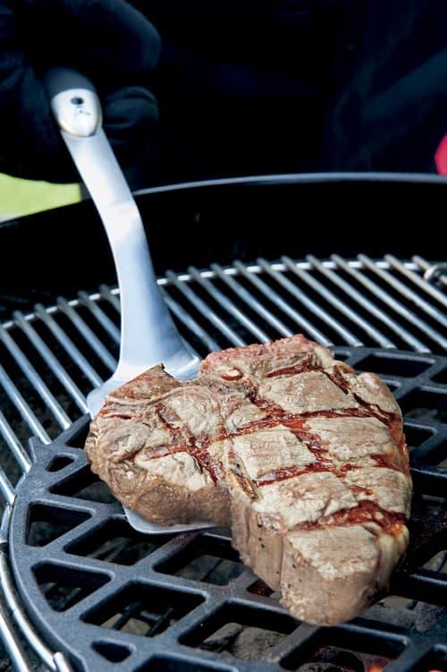 Чугунная решетка Sear Grate -Gourmet BBQ System Вебер