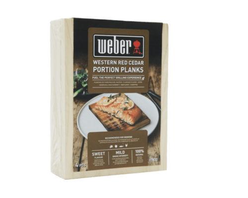 Доски для копчения Weber (малые) кедр, 4 шт