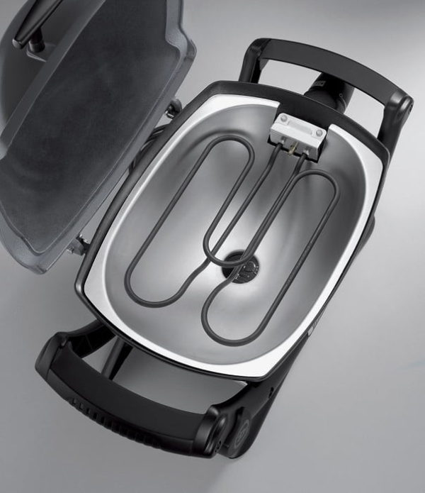 Электрический гриль Вебер Q 1400 темно-серый