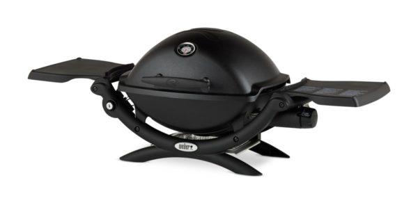 Газовый гриль Вебер Q 1200 черный