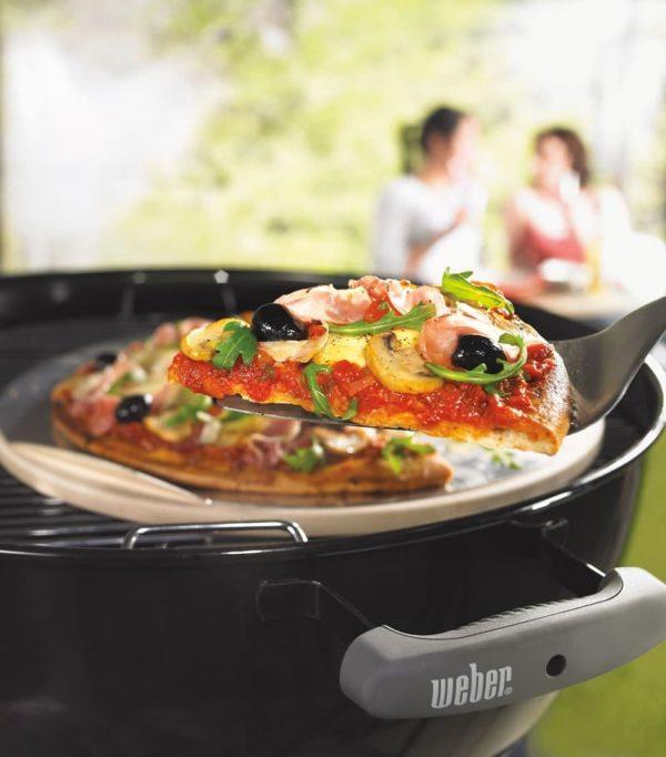 Камень для пиццы Вебер круглый 36 см
