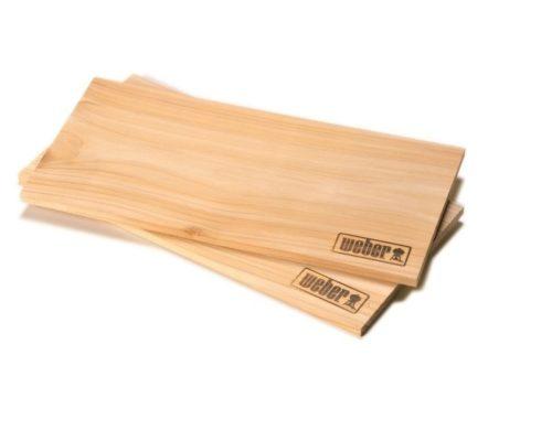 Кедровые доски для копчения Weber (большие) 2 шт