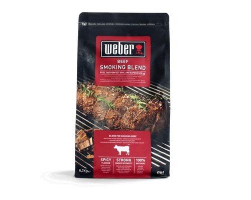 Щепа для копчения Weber смесь для говядины 700г