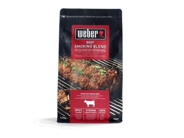 Щепа для копчения Вебер смесь для говядины 700г