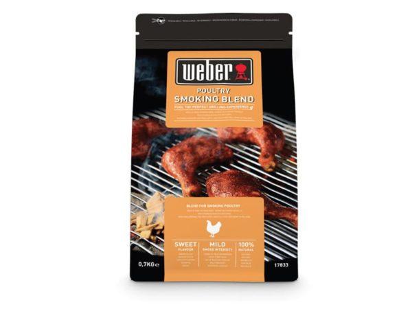 Щепа для копчения Вебер смесь для курицы 700г