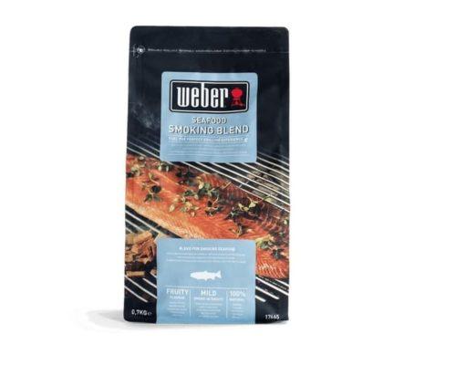 Щепа для копчения Weber смесь для рыбы 700 г