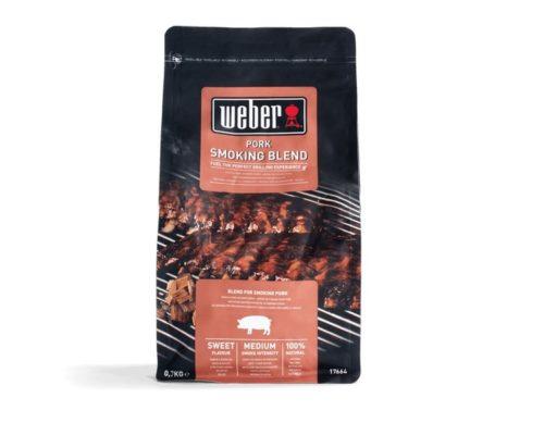 Щепа для копчения Weber смесь для свинины 700г