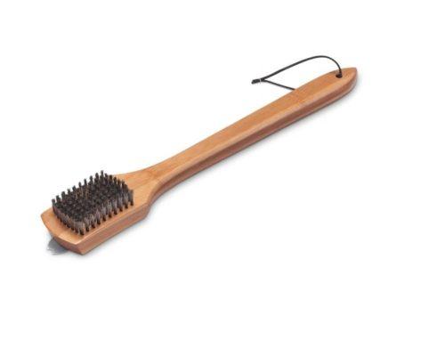 Щетка Weber для гриля с бамбуковой ручкой, 46 см.