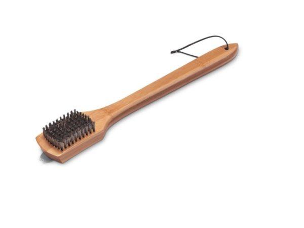 Щетка Вебер для гриля с бамбуковой ручкой 46 см