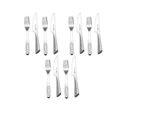 Столовые приборы для стейка Weber Deluxe 12 предметов