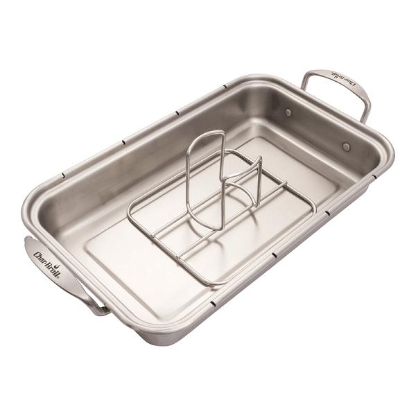Ростер для курицы с креплением для емкости Чар Броил Grill+