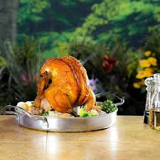 Ростер для курицы с подставкой для емкости Чар Броил