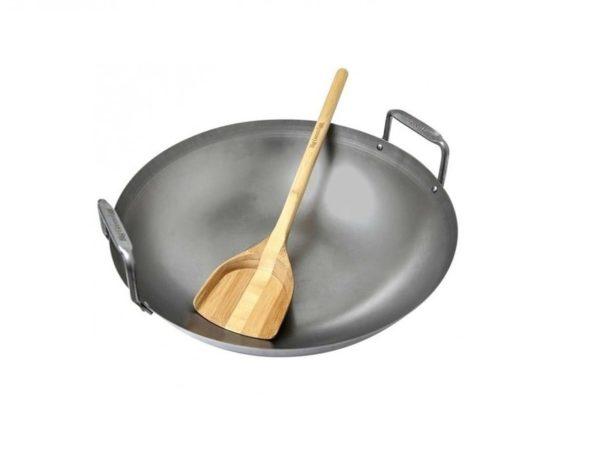 Сковорода вок из углеродистой стали диаметр 400мм Биг Грин Эгг