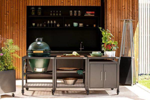 Модульная гриль-кухня BGE с грилем Биг Грин Егг ЛLarge