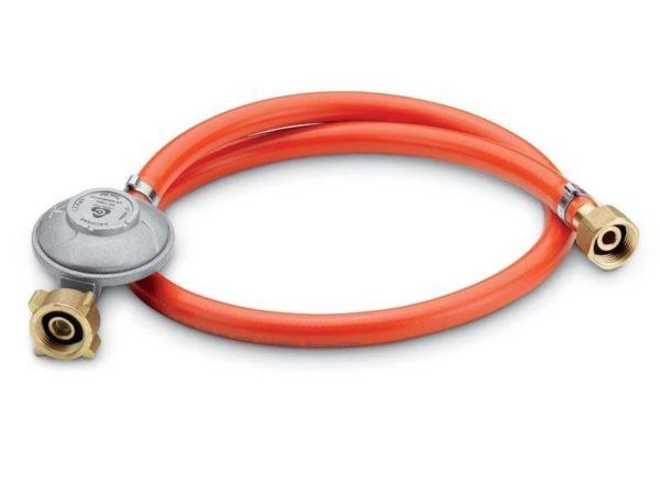 Регулятор давления 30мБар со шлангом 90 см. для газового гриля