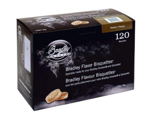 """Древесные брикеты для копчения Bradley Smoker """"Гикори/Hickory"""" (120 шт.)"""