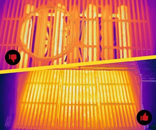 Газовый гриль Char-Broil Professional PRO преимущества инфракрасной пластины, сравнение