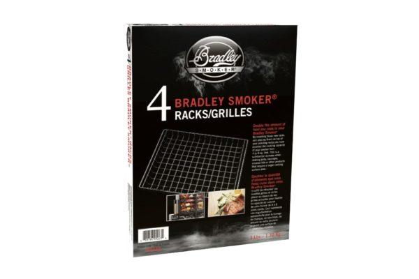 Набор хромированных решеток Bradley Original Racks (4 шт.) 1
