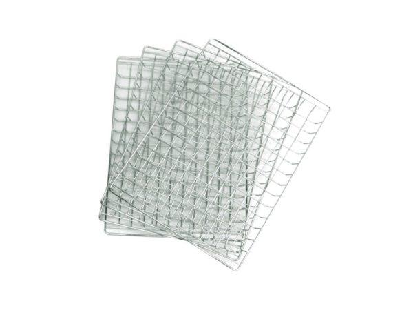 Набор хромированных решеток Bradley Original Racks (4 шт.)