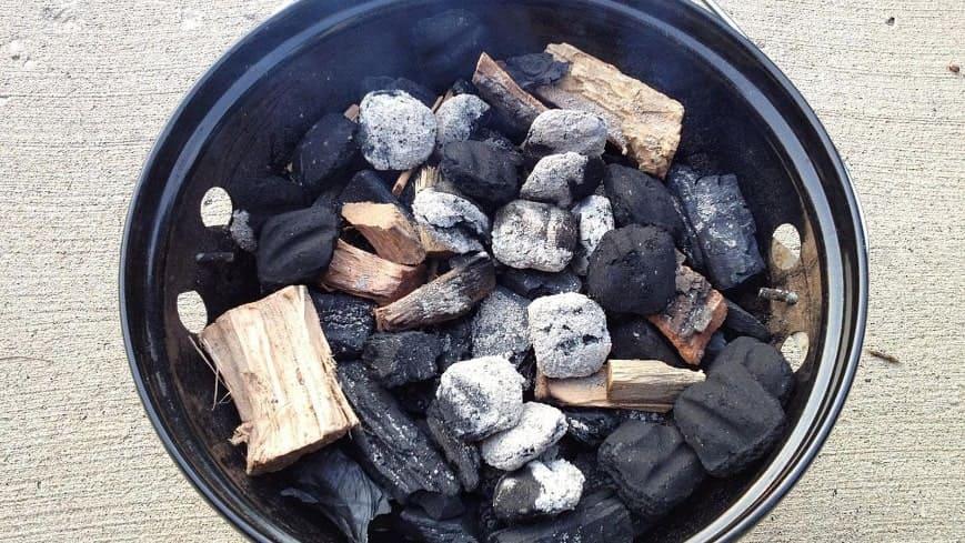 щепа для угольного гриля