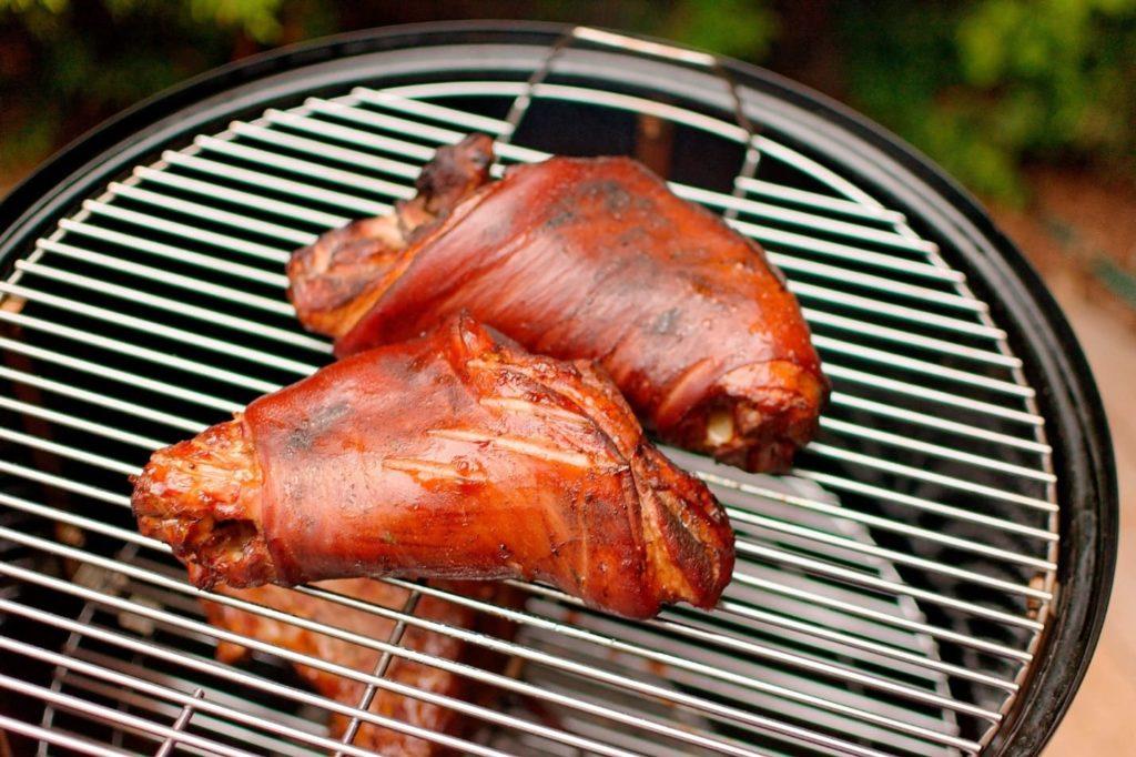 копчение свинины