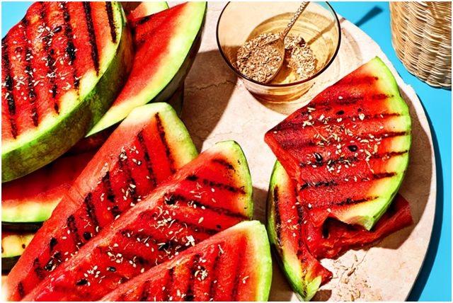 фрукты для гриля арбуз