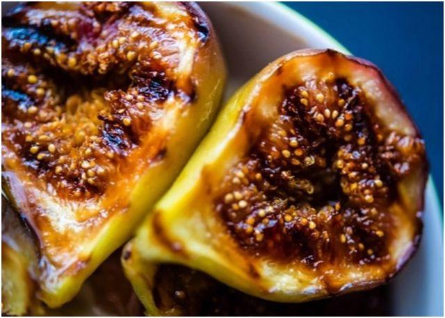 фрукты для гриля инжир