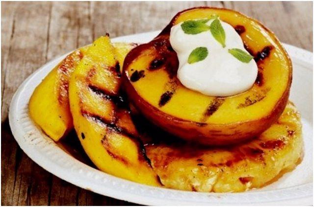 фрукты для гриля косточковые плоды