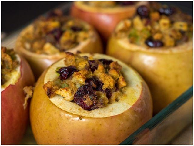 фрукты для гриля яблоки
