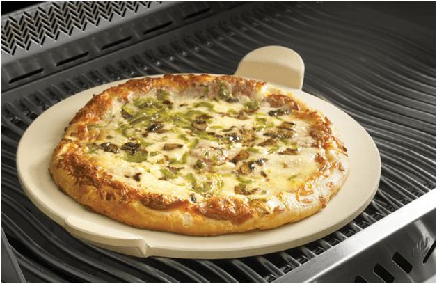 Камень для выпекания пиццы на гриле